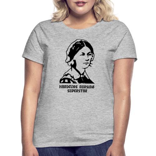 HC Nursing Superstar - Florence Nightingale - Naisten t-paita