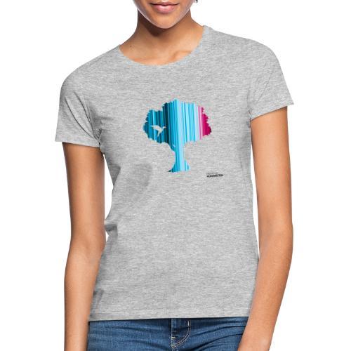 Warming stripes: Wir brauchen die Natur! - Frauen T-Shirt