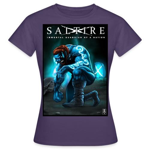 Saltire Invasion1 - Women's T-Shirt