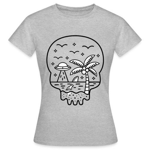 Die Wahrheit ist am Strand - Frauen T-Shirt