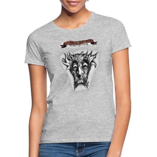 T-shirt del Dio Diaforo Tossidoille - Maglietta da donna