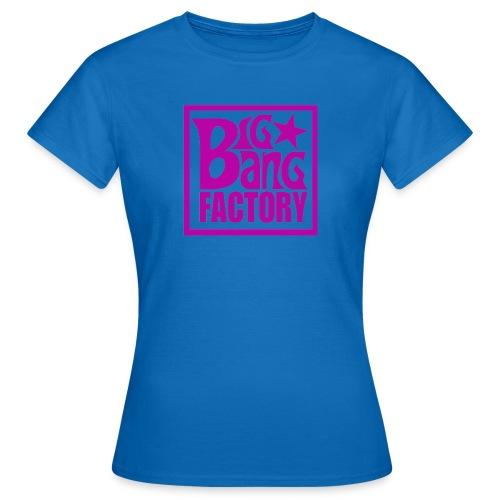 LOGOSTARWHITEBIGPINKPNG png - T-shirt Femme