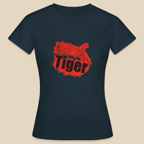 Red Tiger - T-shirt Femme