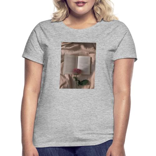 Rosen Aufdruck - Frauen T-Shirt