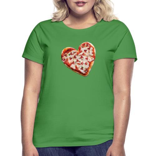 Pizza a cuore - Maglietta da donna