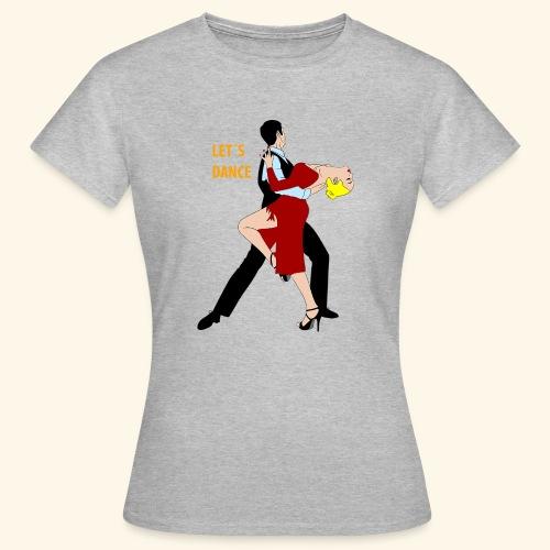 tanzendes paar - Frauen T-Shirt