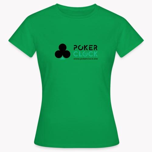 Poker Clock Logo - Frauen T-Shirt