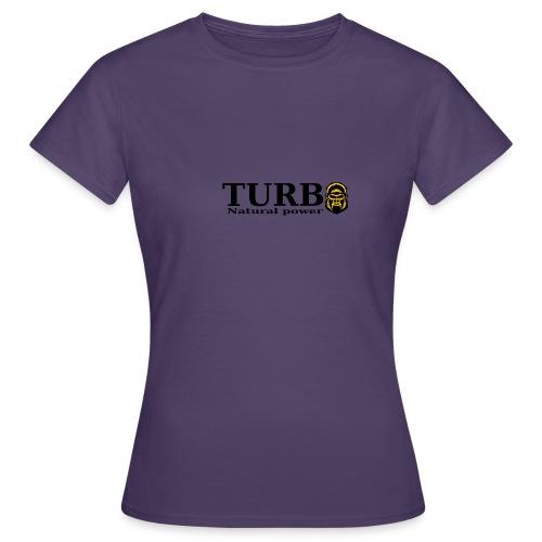 TURBO natural power - Naisten t-paita