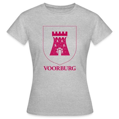 Voorburg wapen lijn - Vrouwen T-shirt