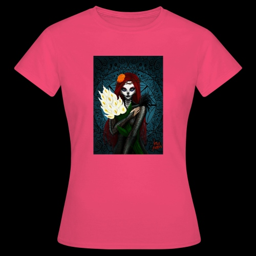 Death and lillies - Women's T-Shirt
