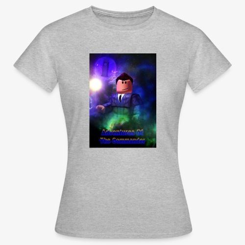 Adventures of the Commander 3 - Women's T-Shirt