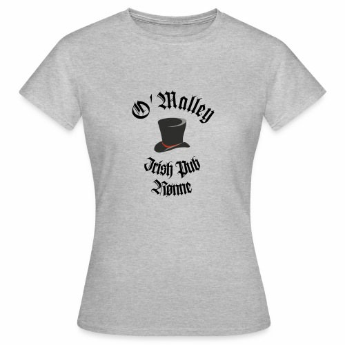 O Malley Logo 2020 - Dame-T-shirt