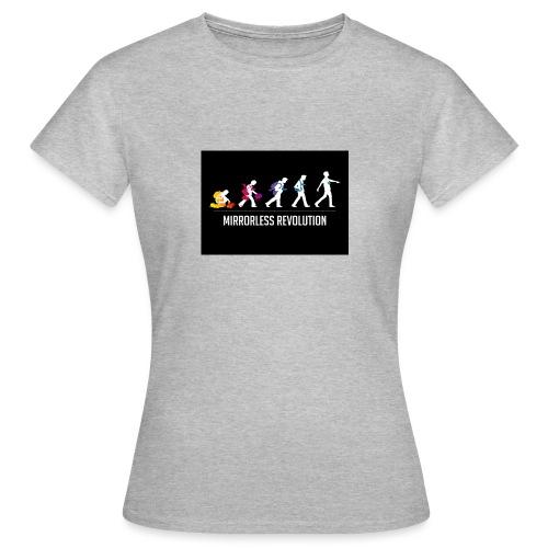 mirrorless evolution - Camiseta mujer
