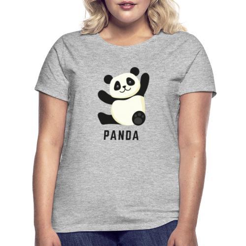 Schattige Panda - Vrouwen T-shirt