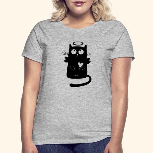 Gato angelical - Camiseta mujer