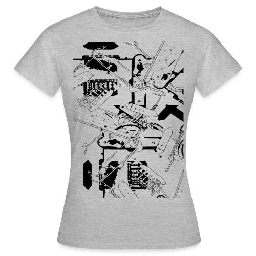 Gitarre - Frauen T-Shirt