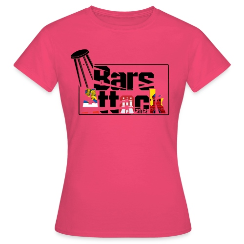 BarsAttack Rostock-Hamburg-Oldenburg Edition - Frauen T-Shirt