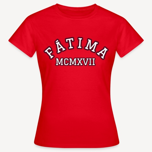 FATIMA MCMXVII - Women's T-Shirt