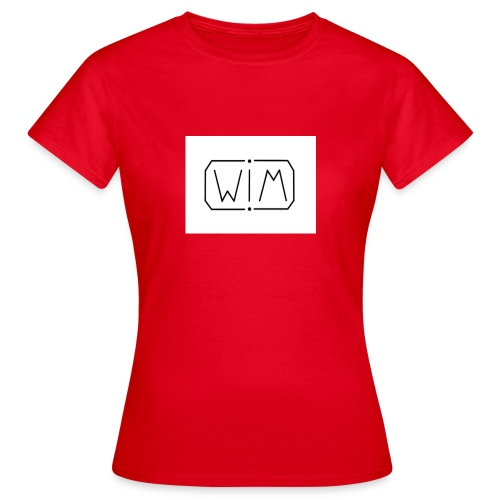 normal WIM design - Vrouwen T-shirt