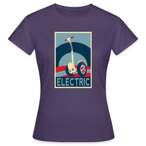 ELECTRIC - Camiseta mujer