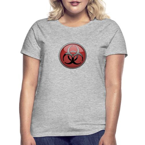 DANGER BIOHAZARD - Frauen T-Shirt