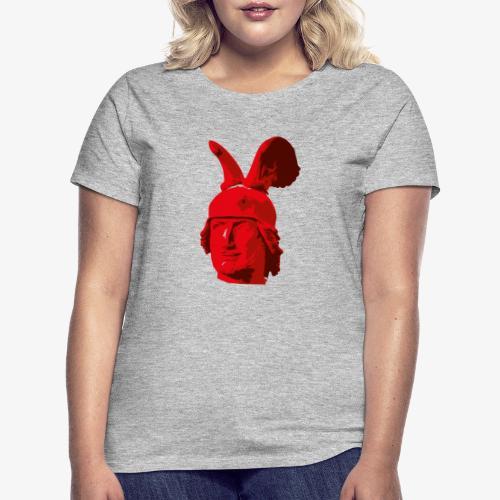 Kopf des Hermannsdenkmals - Frauen T-Shirt