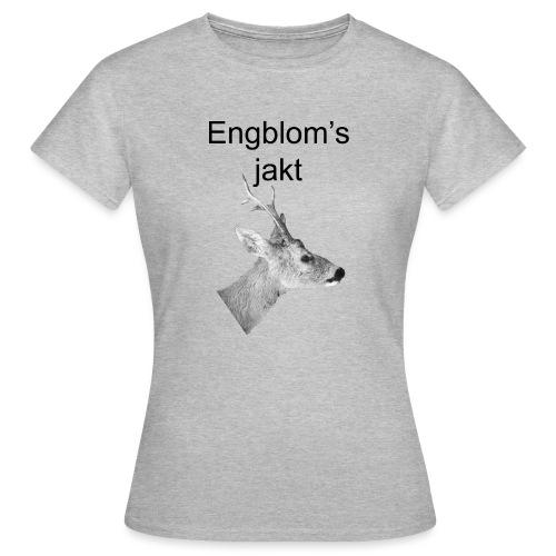 Officiell logo by Engbloms jakt - T-shirt dam