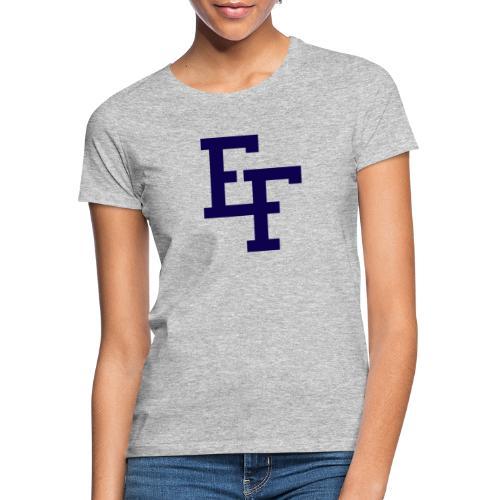 East Finchley Logo Navy - Women's T-Shirt