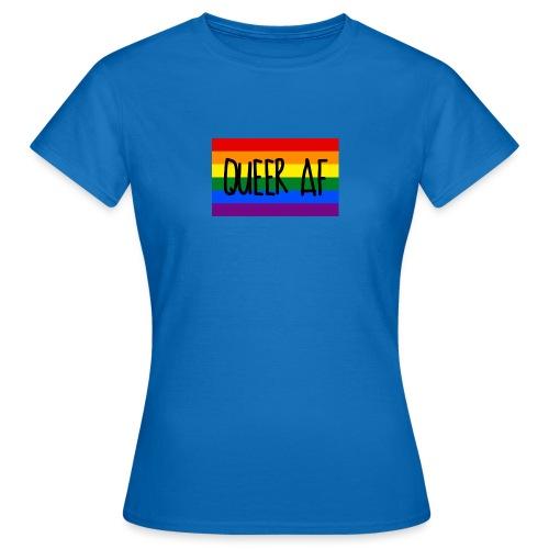 queer af - Frauen T-Shirt
