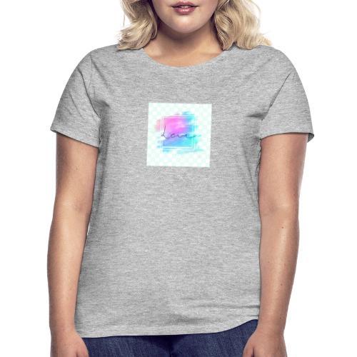 Paint - Love - Dame-T-shirt