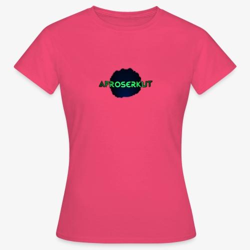 AfroSerkut LOGO - Naisten t-paita