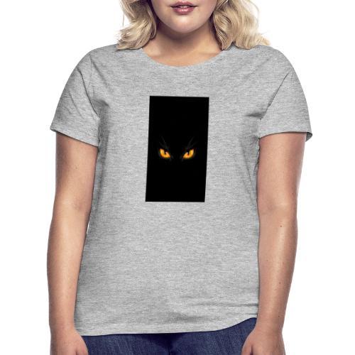 Black cat eye - Frauen T-Shirt