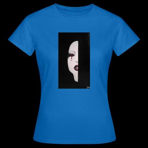 BlackWhitewoman - Maglietta da donna