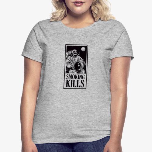 Smoking Kills - Dame-T-shirt