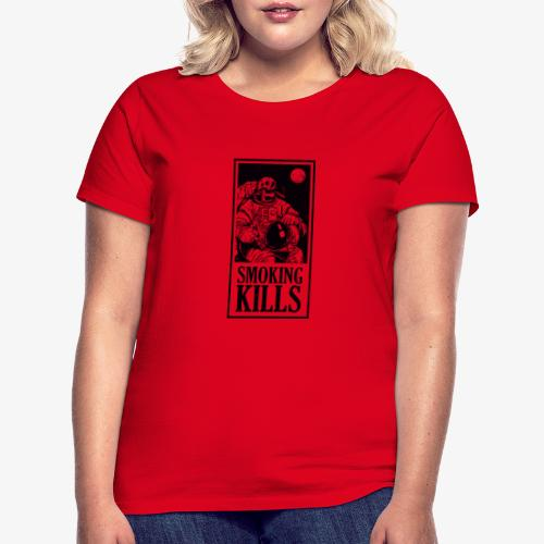 Smoking Kills - Dame-T-shirt