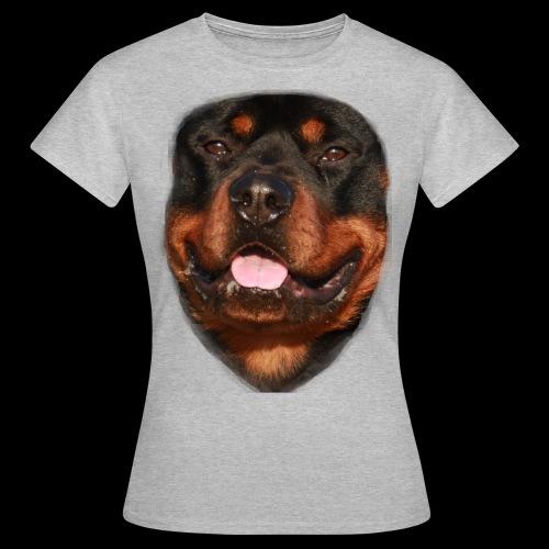rotweiller face - Women's T-Shirt