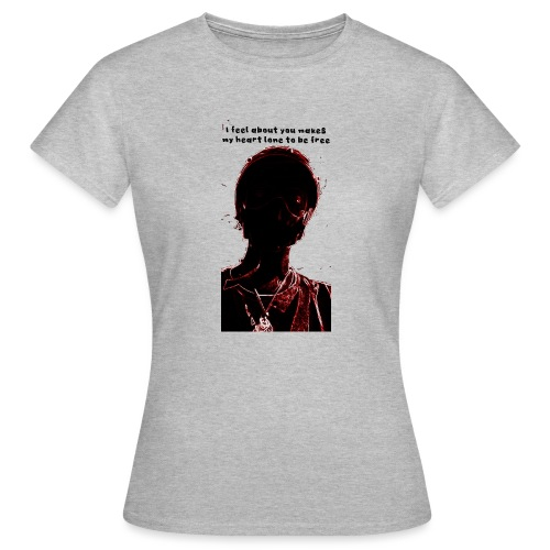 Dark in red and black - T-shirt Femme