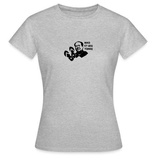 MAO et ses tongs - T-shirt Femme