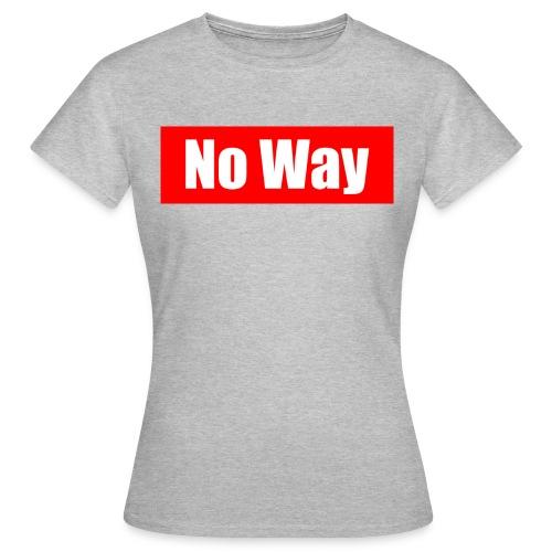 no way logo - T-shirt Femme
