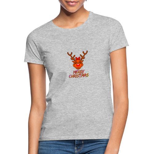 Rudolph weiblich - Frauen T-Shirt