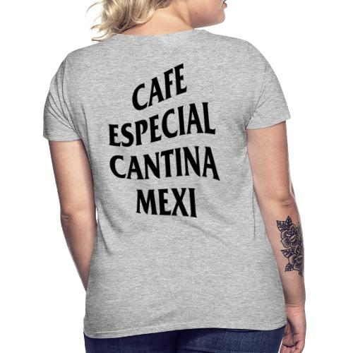 Mex Wave Logo Schwarz - Frauen T-Shirt