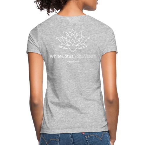 Jacket White Lotus Yoga Verein - Frauen T-Shirt
