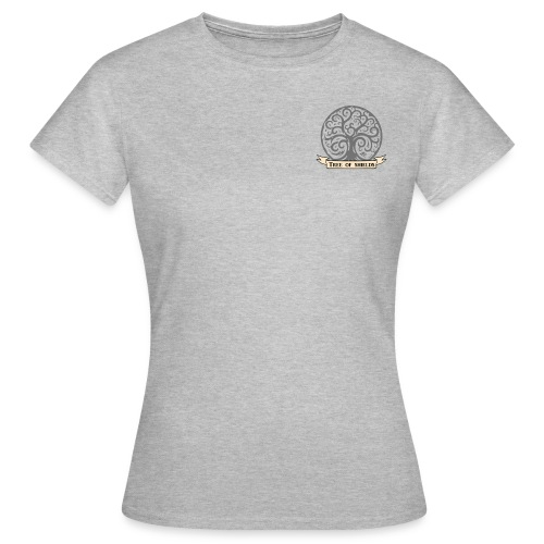 TOS grey tiny 3in png - Women's T-Shirt