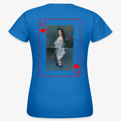 Kaiserin Sissi spielkarte Österreich - Frauen T-Shirt