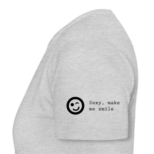 Sexy make me smile - Dame-T-shirt