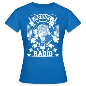 Motgift Rebel Radio - T-shirt dam