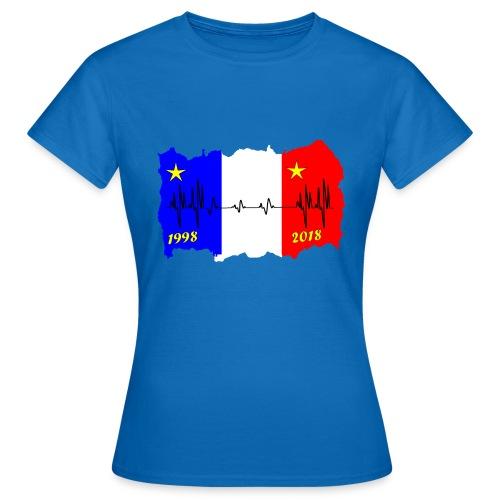 France 2018 coupe du monde les bleus - T-shirt Femme