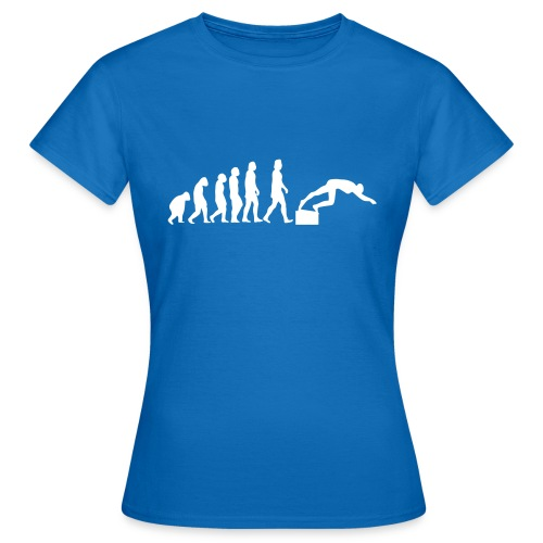 SWIMMER'S EVOLUTION - Maglietta da donna
