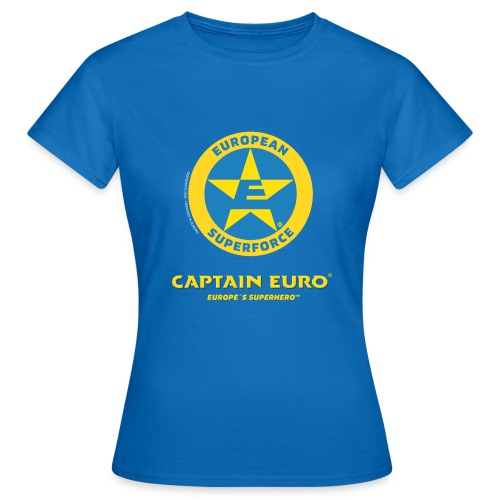 SÍMBOLO DEL SUPERFORCE EUROPEO (ESF) - Camiseta mujer