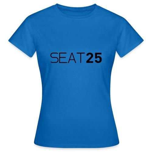 Seat25 Logo Dark - Women's T-Shirt